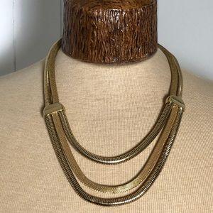 SALE ITEM Vintage Faux Gold Neck Piece.